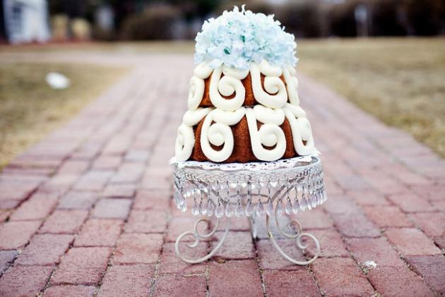 bundt cakes de boda