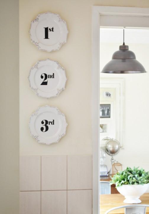decorando con platos