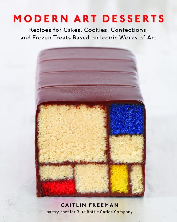 moder art desserts