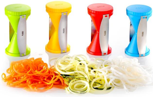 Spirell rallador en espiral de verduras - Maquina para hacer macarrones ...