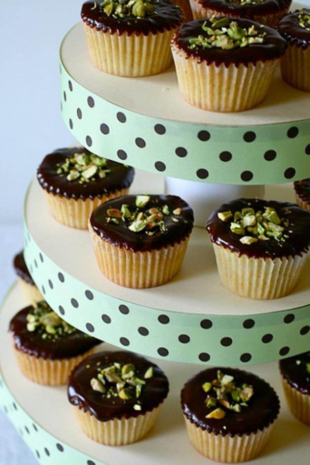 decoracion stand cupcakes