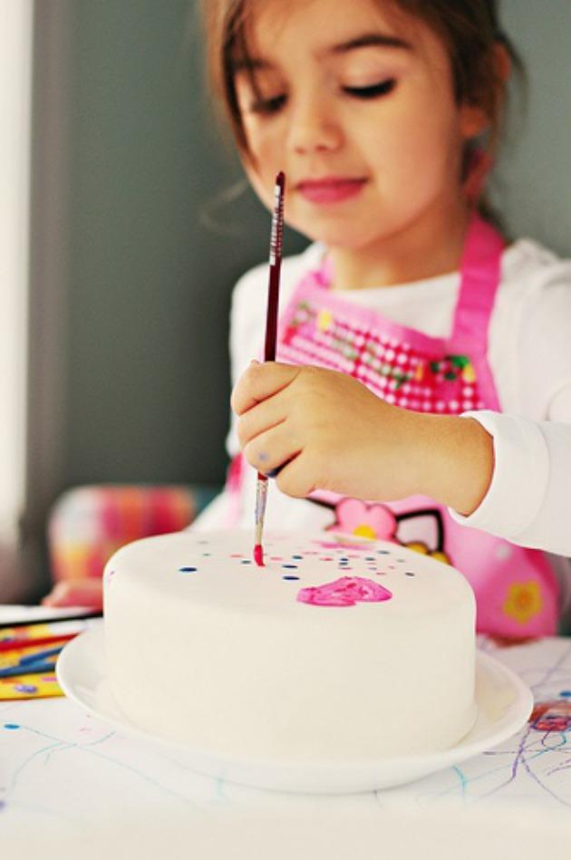 tarta niños