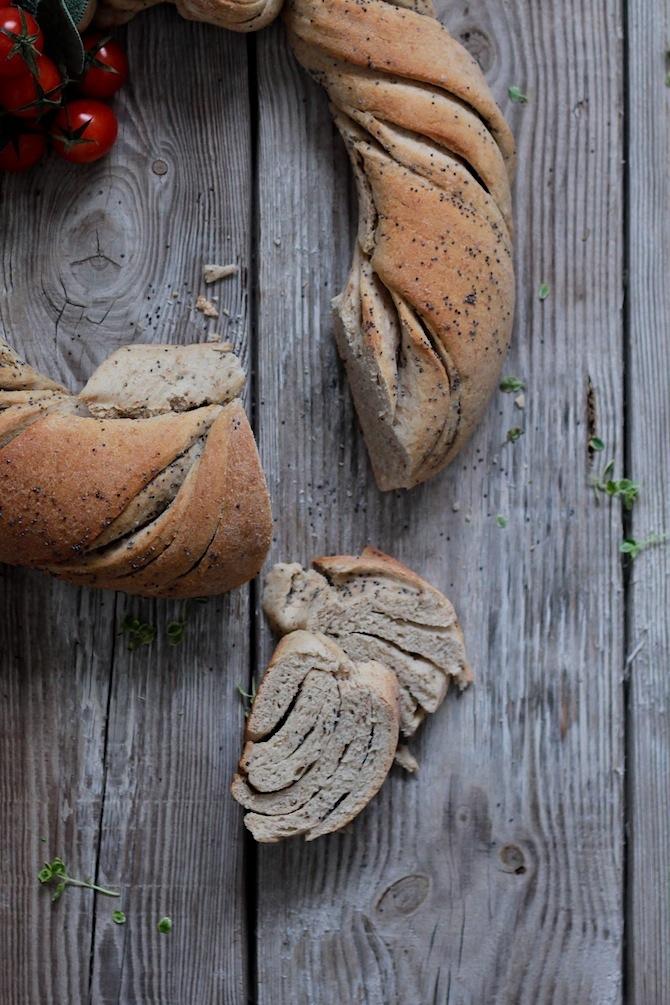 corona de pan