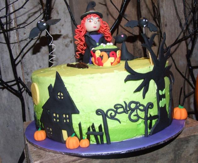 halloween tarta