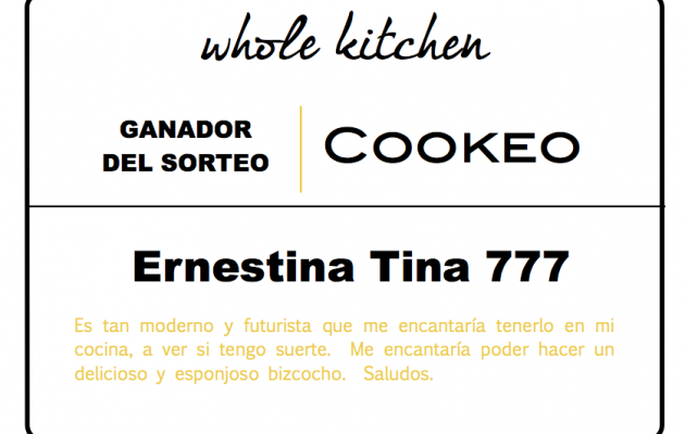 ganador sorteo whole kitchen