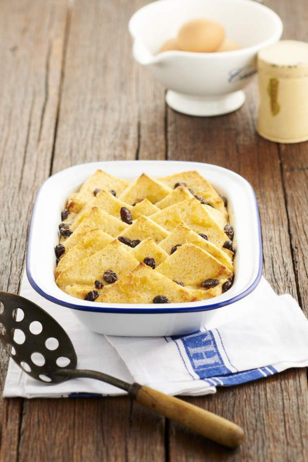 Gluten Free bread & butter pudding