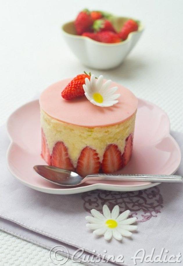 pastel fraisier