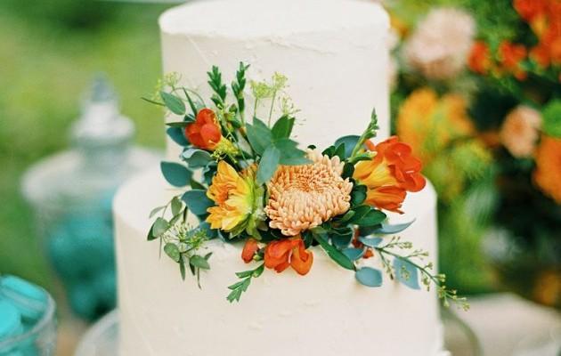 tarta flores naranjas pp