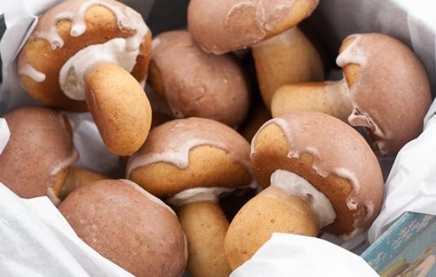 galletas champiñones cara